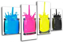 CMYK Paint Pots Abstract - 13-1130(00B)-MP04-LO
